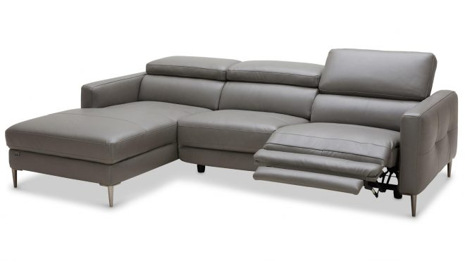 reno reclining sectional