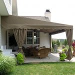 residential deck or patio awning deck awningoutdoor living