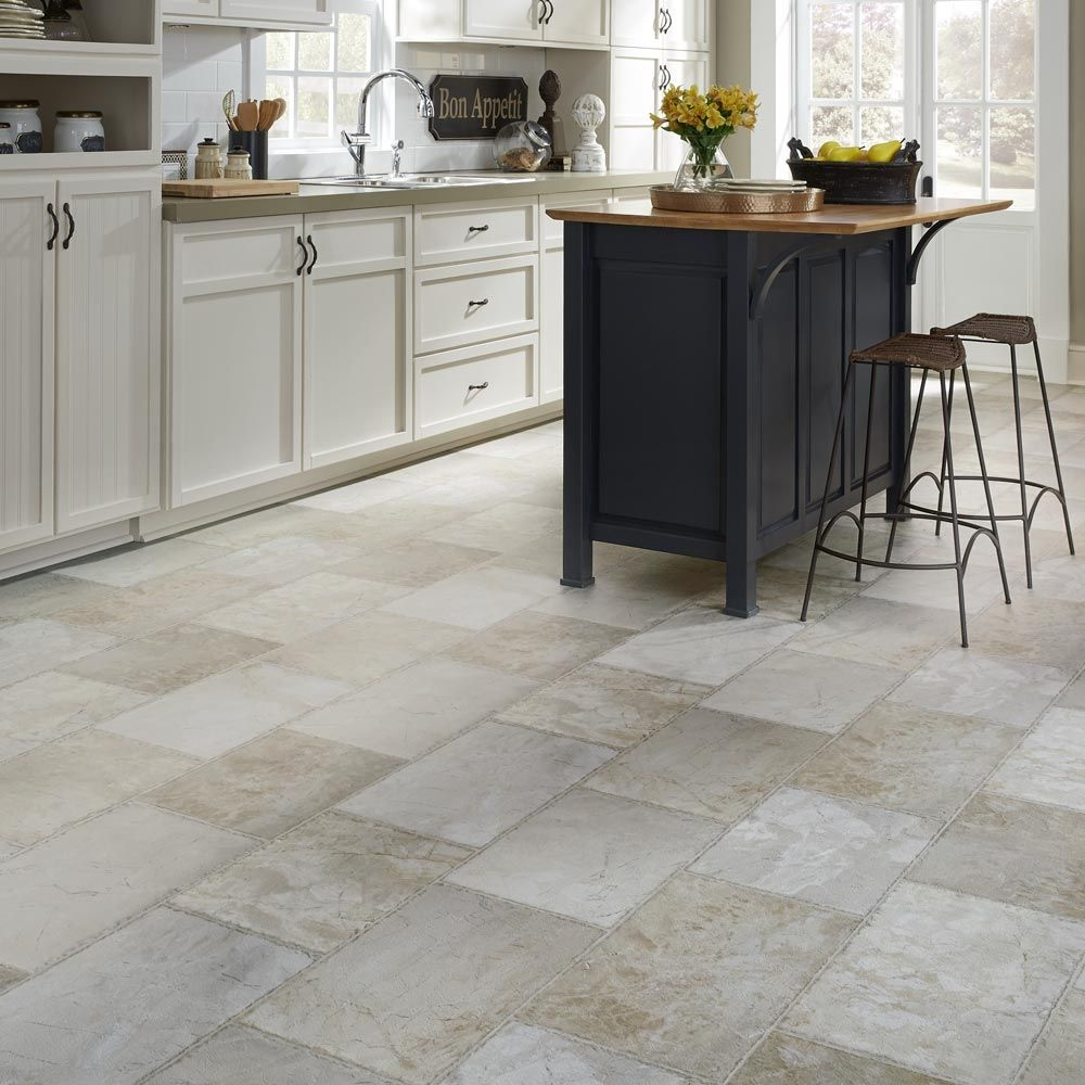 resilient natural stone vinyl floor upscale rectangular large scale