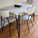 retro style kitchen table and chairs home design smart