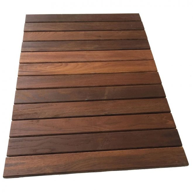 rollfloor 2 ft x 3 ft camping wood deck tile pads in lamosa tile