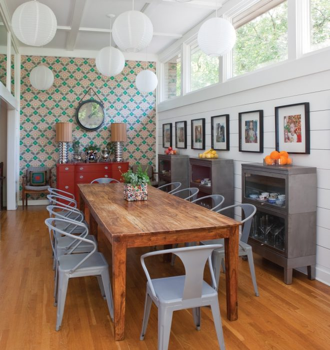 room envy a retro dining room gets a midcentury remodel