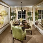 room frame design dining room traditional with window table