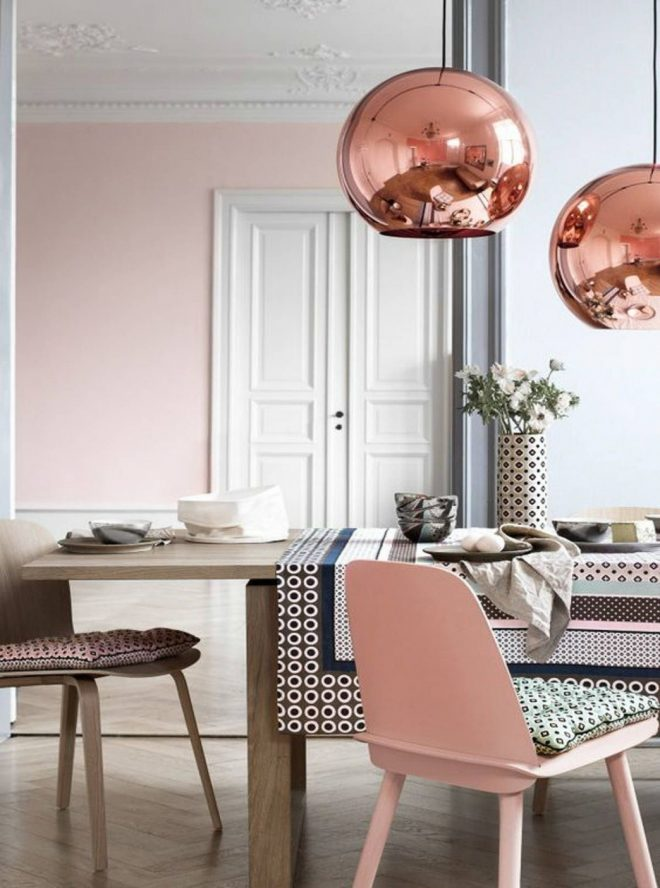 rose gold living room decor home inspiration decorating with
