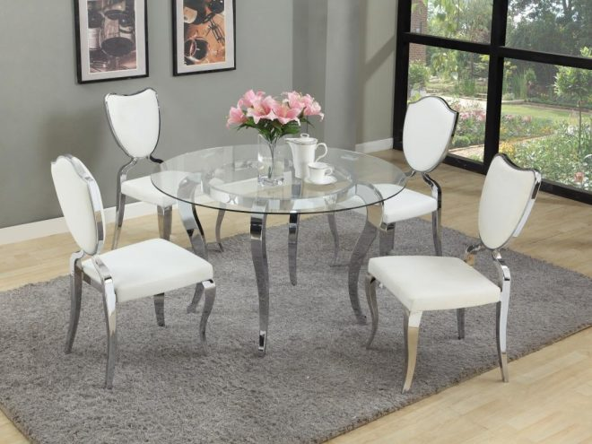 round glass top dining table dining sets with home decor ideas