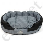 round waterproof dogt bed 2 colours 5 sizes
