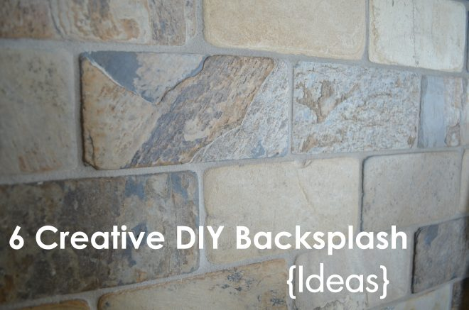 roundup diy backsplash ideas renters apartment yesterday tierra