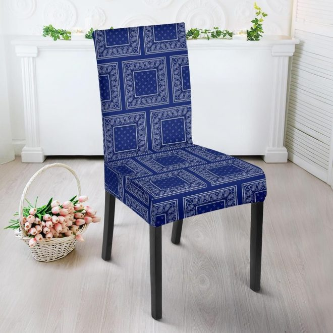 royal blue bandana dining chair covers 4 patterns in 2019