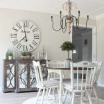 rustic beach cottage dining room