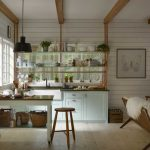 rustic cottage kitchen with country furniture ideas also lighting