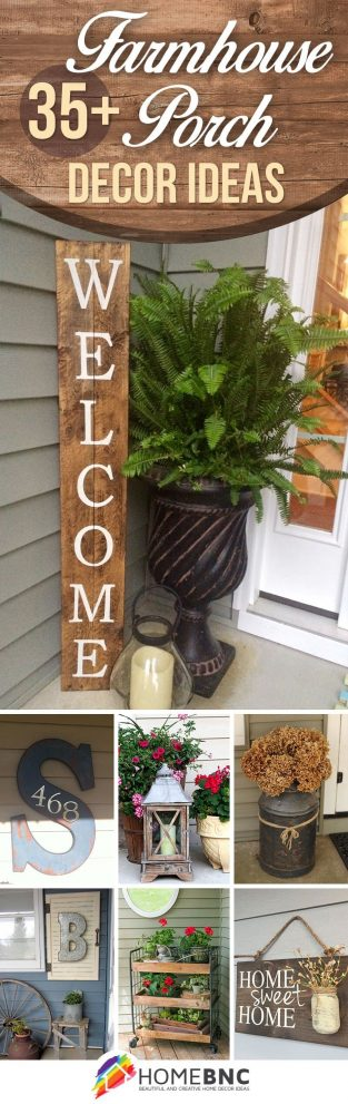 rustic farmhouse porch decor ideas that are sure to delight