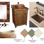 rustic guest bathroom ideas unique vanities