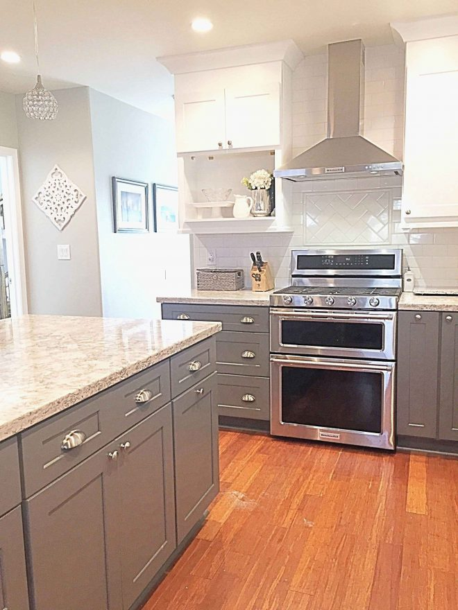 rustic hickory cabinets elegant best kitchen home ideas