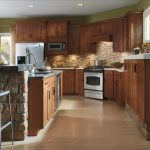 rustic hickory kitchen cabinets aristocraft gallery