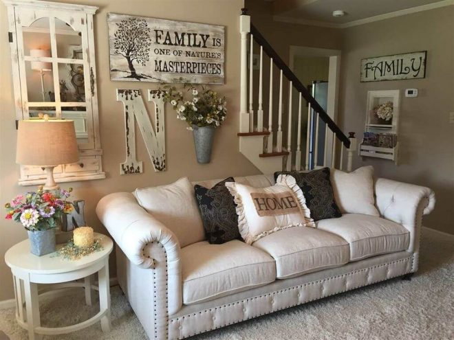 rustic living room 33 best wall decor ideas and designs for 2018