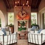 rustic outdoor decor patio shab chic style with wood