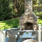 rustic outdoor fireplace designs for your barbecue party8