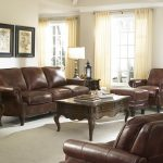 rustic savauge leather split sofa