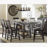 rustic tall kitchen table diy kitchen counter height table