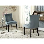 safavieh dining lester blue dining chairs set of 2