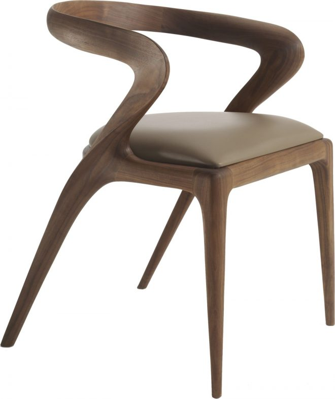 salma dining chair agrippa contemporary transitional