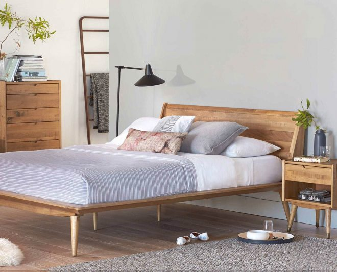 scandinavian designs the nordic inspired bolig bed is crafted from