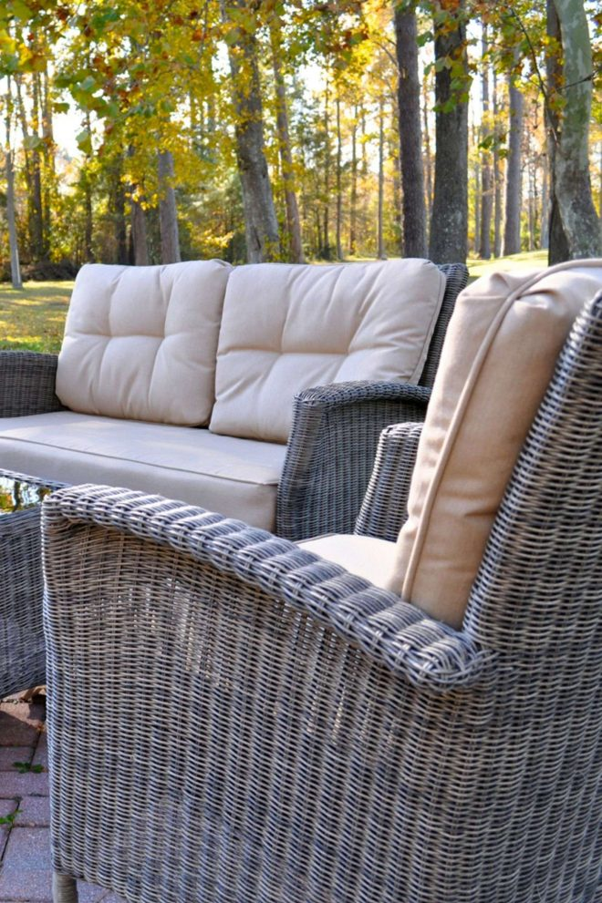 scenic resin wicker known all weather outdoor patio