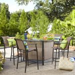 selecting a lovely patio bar set for your home darlanefurniture