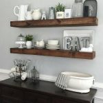 shanty2chic dining room floating shelves myneutralnest