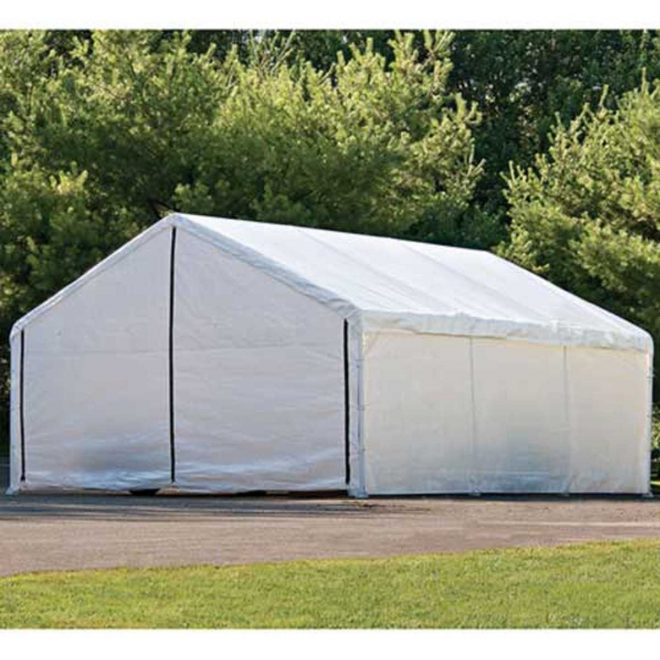 shelterlogic 18 x 20 super max canopy enclosure kit 26775