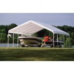 shelterlogic supermax canopy 18 x 30 ft patio furniture