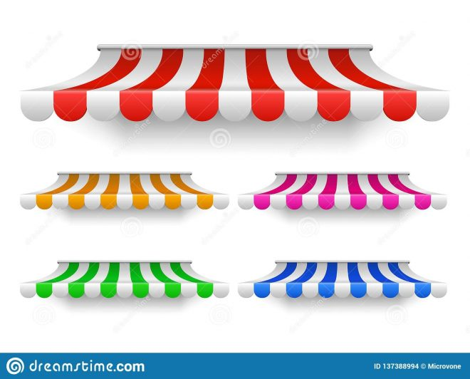 shop awning tents for window outdoor market canopy vintage