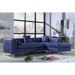 shop chic home monet pu leather modern contemporary button tufted