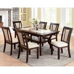 shop copper grove schmidt dark cherry dining table free shipping