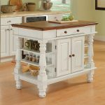shop home styles white farmhouse kitchen islands at lowes