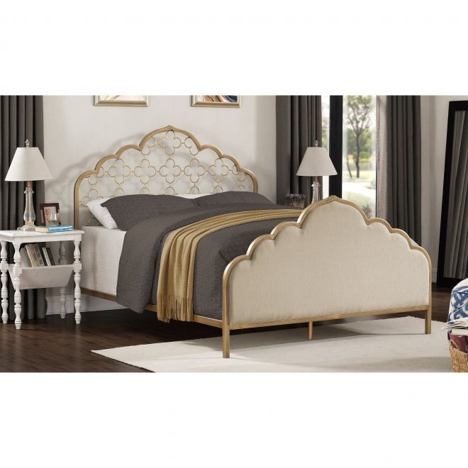 shop moroccan quatrefoil queen bed free shipping on orders over