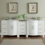 shop silkroad exclusive 89 inch contemporary bathroom vanity double