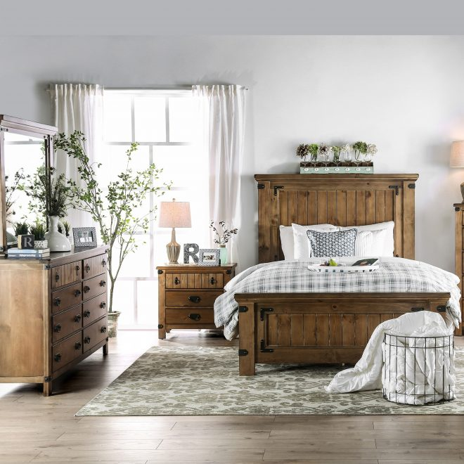 shop the gray barn pawnee country style 4 piece bedroom set on