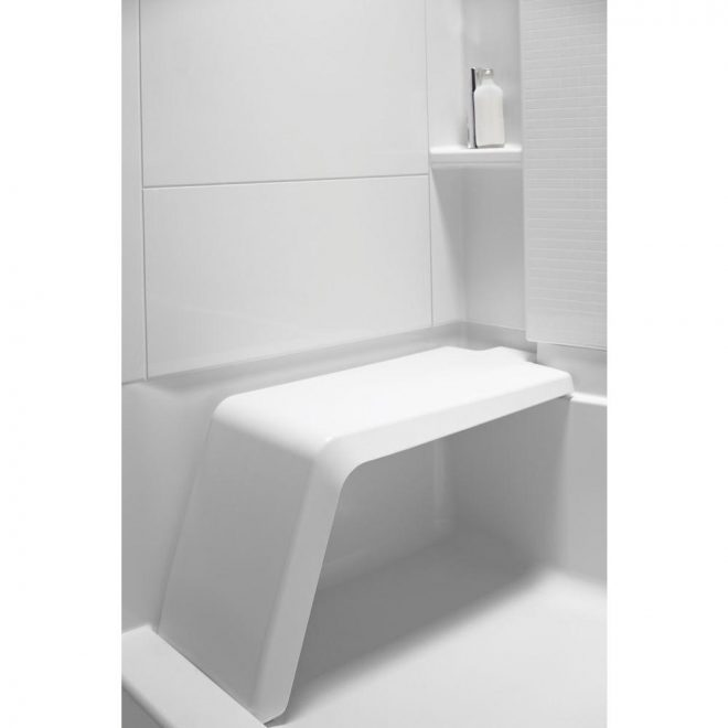 shower inserts with seat sterling accord shower stall