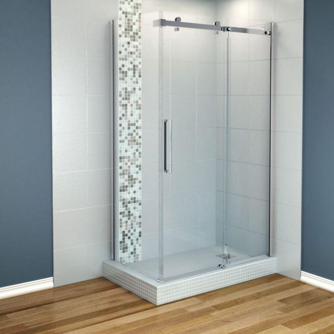 shower stall ideas for a small bathroom white house style
