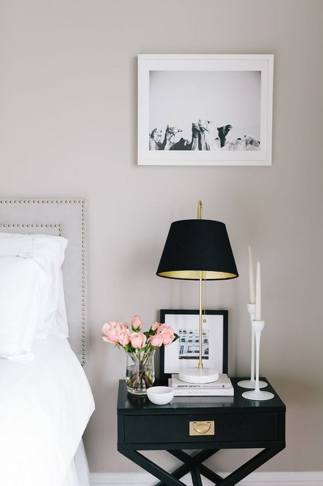 side table color combo dark white home bedroom home