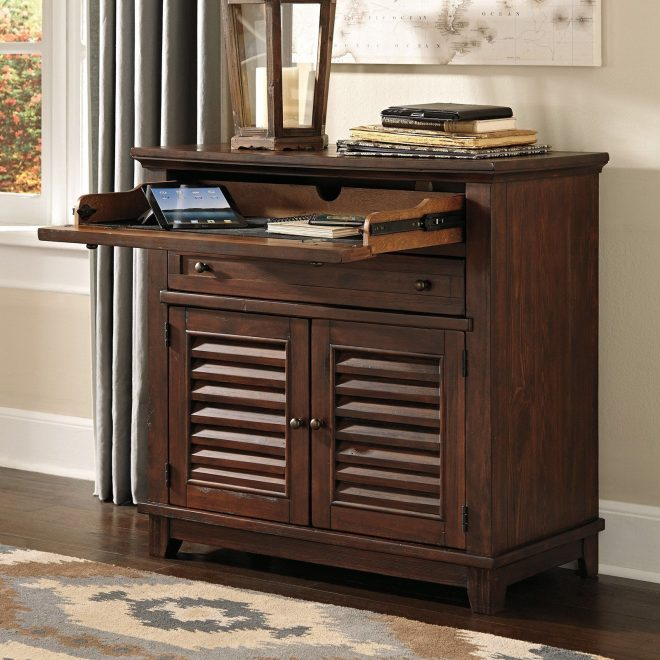signature design ashley grinlyn secretary desk the signature