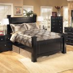 signature design ashley shay poster bed size queen