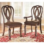 signature designs ashley hamlyn dining chairs set of 2