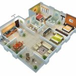 simple 3 bedroom house plans and designs 25 more 3 bedroom 3d floor