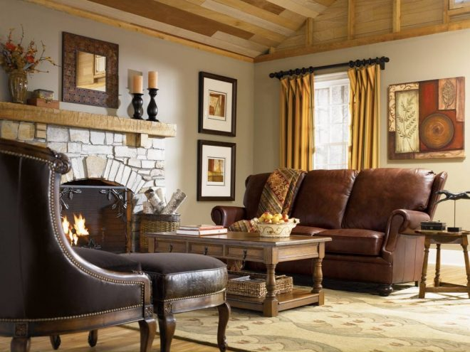 simple country living room ideas