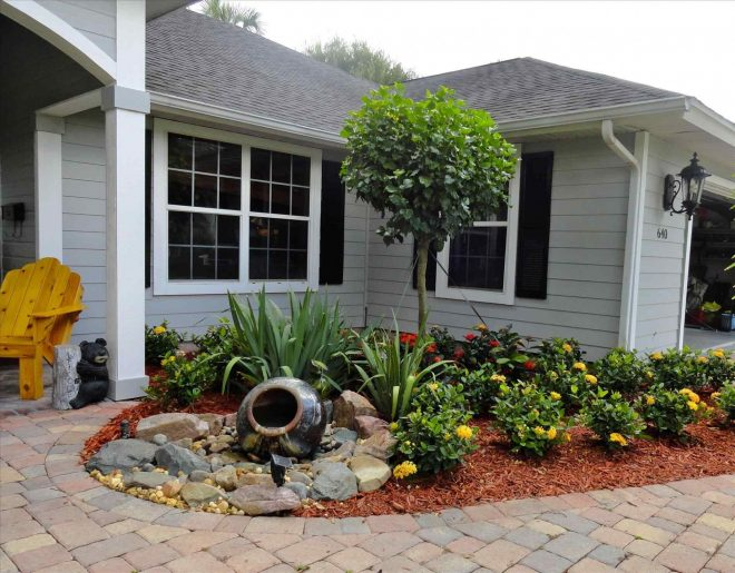 simple front yard landscaping ideas no grass dvmx home decor add