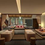 simple japanese style living room home decorating