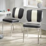 simple living raleigh retro dining chairs set of 2