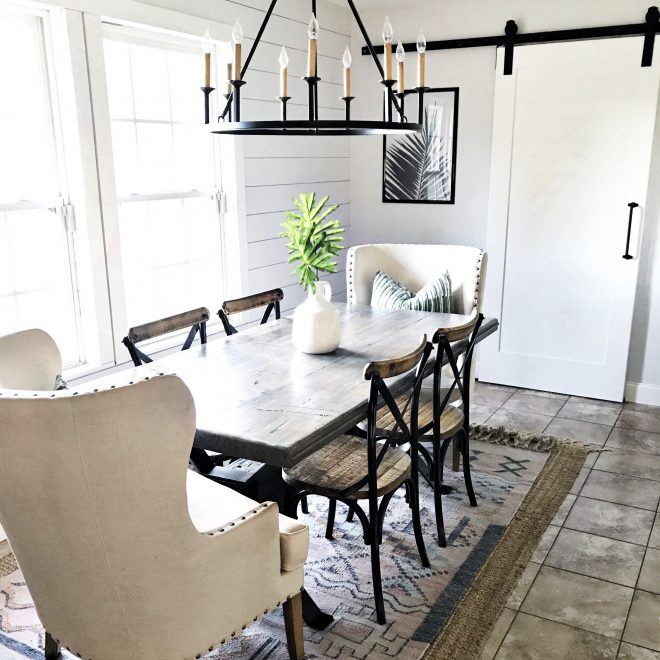 simple summer dining room update the spoiled home